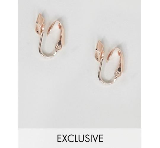 Wholesale Joblot of 30 DesignB Rose Gold Sleeper Earrings Clip On 1071618