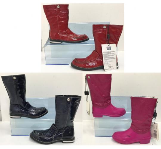 One Off Joblot of 3 Dolce & Gabbana Girls Boots 3 Styles Sizes 7-12
