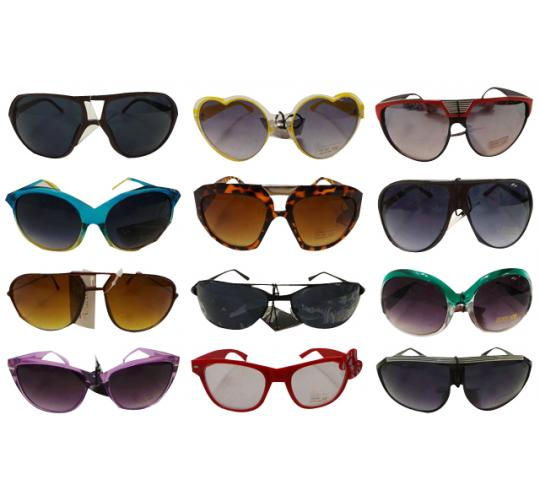 Wholesale Joblot of 50 Assorted Sunglasses Mens & Womens