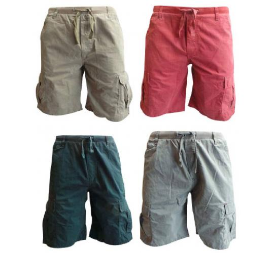 Wholesale Joblot of 10 Mens Wrangler Cargo Shorts Mixed Colours