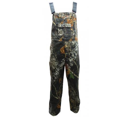 One Off Joblot of 7 Mens Russell Outdoors Camouflaged Bib Dungarees 0010