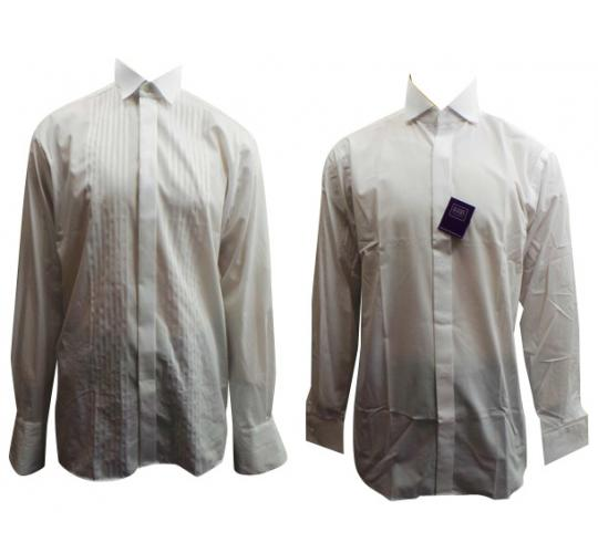 Wholesale Joblot of 10 Mens White High End Smart Shirts Perfect For A Wedding