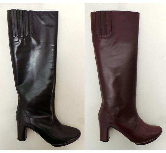 One Off Joblot of 5 Repetto Ladies Orchestre Knee High Boot Leather 2 Colours