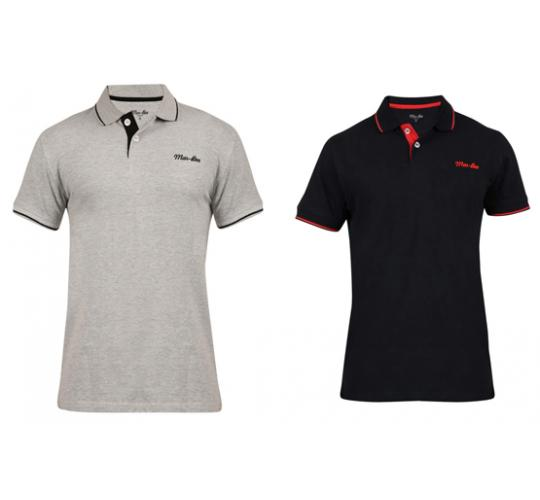 Wholesale Joblot of 20 Mar-Bee London Mens Tipped Polo Shirts 2 Colours