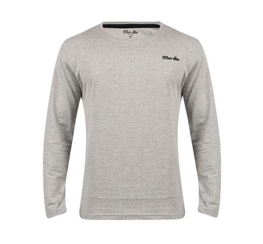 Wholesale Joblot of 10 Mar-Bee London Mens Long Sleeve T-Shirts Grey Sizes S-XXL