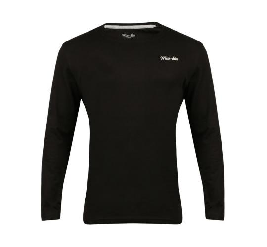 Wholesale Joblot of 10 Mar-Bee London Mens Long Sleeve T-Shirts Black M-XL