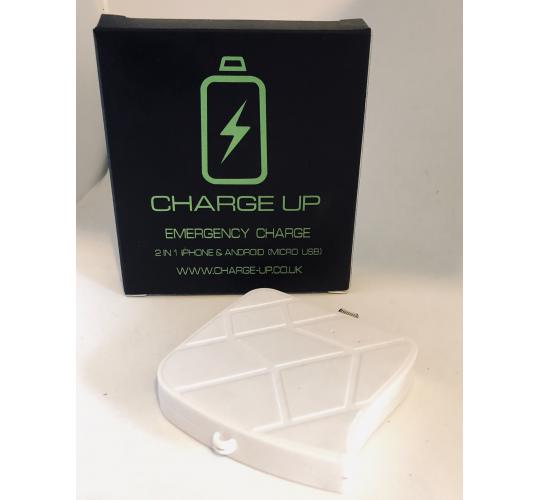 Quick Charge White Travel Powerbanks
