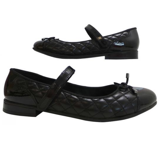 One Off Joblot of 8 Angry Angels Girls/Ladies Gossip Black Leather/Patent Shoes