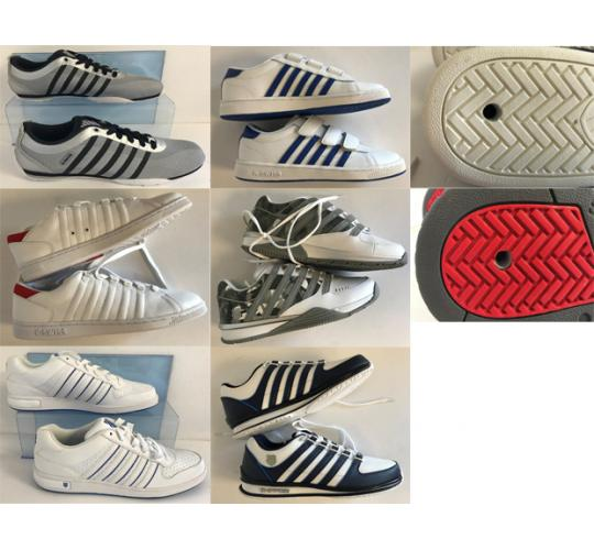 One Off Joblot of 13 K-Swiss Shoes Majority Mens - Mixed Styles - Sample Pieces