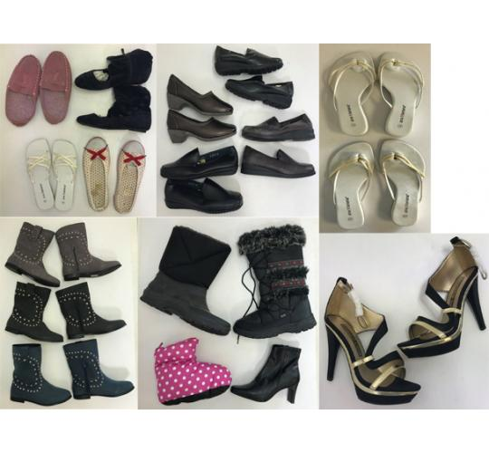 One Off Joblot of 47 Shoes with Defects - Assorted Styles Mixed Sizes