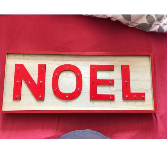 Noel LED Light up signs Christmas decoration,
