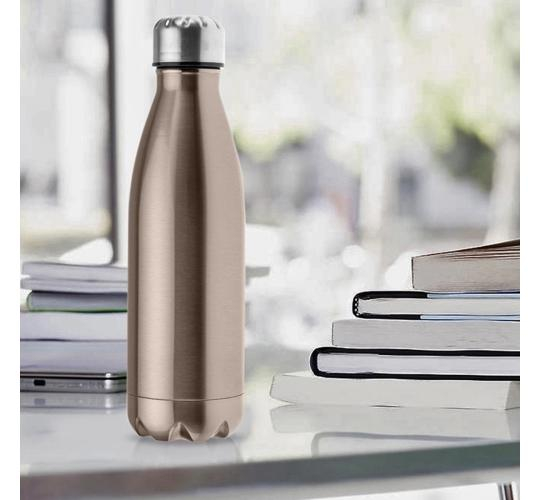 6 X Joblot of Water Bottle Flask Bottle 500 ml | Stainless Steel | Double insulated | Vacuum Flask