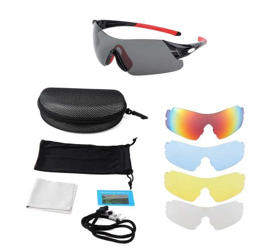 Wholesale Joblot Of 20 Sports Sunglasses With Interchangeable Lenses 3 Styles