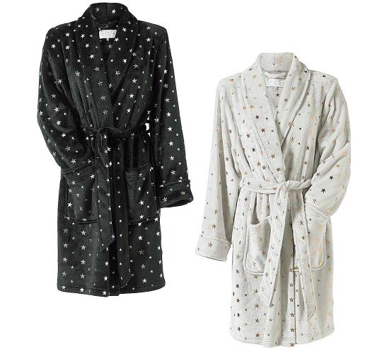 Job Lot of 40pcs Ladies Foil Star Print Dressing Gowns