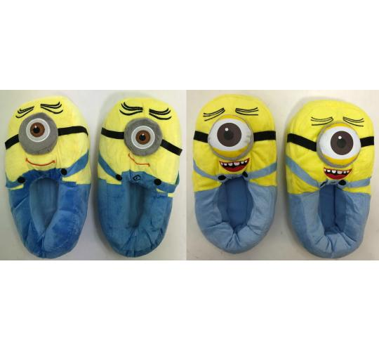 One Off Joblot of 35 Despicable Me Stuart Minion Slippers Adults