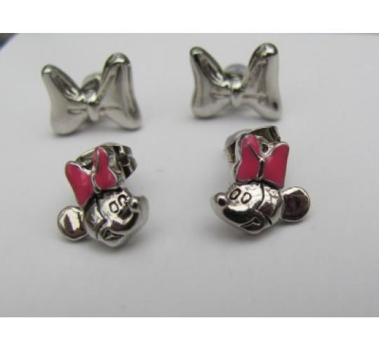 40 Pairs of Genuine Disney Minnie mouse Earrings