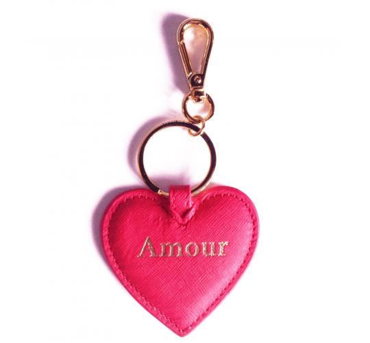 20 x Heart Shape Key-ring/Bag Charms