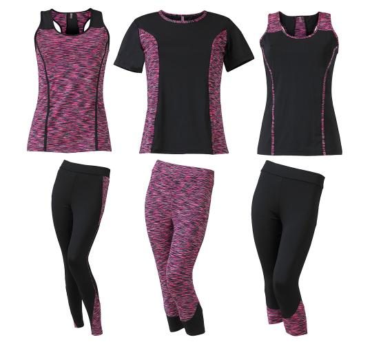Assorted Styles of Active/Gym Wear by Scuba