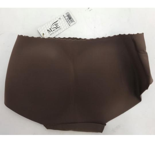 Wholesale Joblot of 20 Womens Shapewear - Padded Bum Pants in Brown Size Small