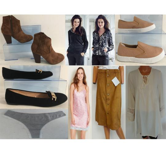 XMAS OFFER - NO BUYERS PREMIUM! - 500 Assorted Avon Clothing & Footwear