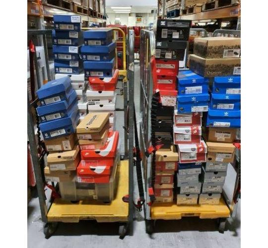 Footwear Mixed Brand Clearance Job Lot 75 Pairs.