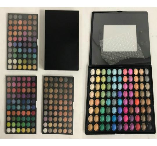 One Off Joblot of 25 Eyeshadow Palettes Mixed Colours - Over 60 Shadows