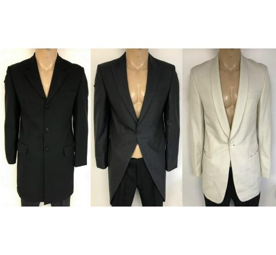 Wholesale Joblot of 50 Mens Mixed Formal Blazer Jackets - Varteks, Wilvorst Etc