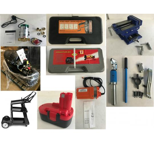 Pallet of 72 Tool Stock - Air Compressors, Jacks, Power Tool Batteries & More