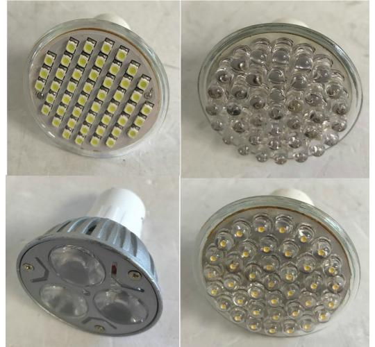 One Off Joblot of 250 Unmarked Ceiling Replacement Light Bulbs Mixed Designs