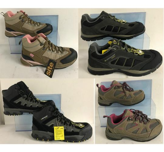One Off Joblot of 6 Dunlop/Site Workwear Safety Footwear - Mens & Womens