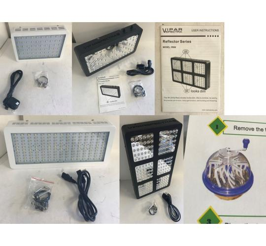 One Off Joblot of 12 LED Grow Lights & 1 Flower Trimmer - Viparspectra & More