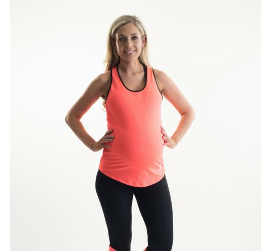 Maternity Vest Top Gymwear Activewear Ladies