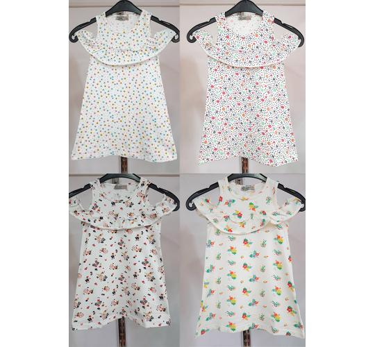 Job Lots of 16 Pcs High Quality Girls Dresses / 4 Designs