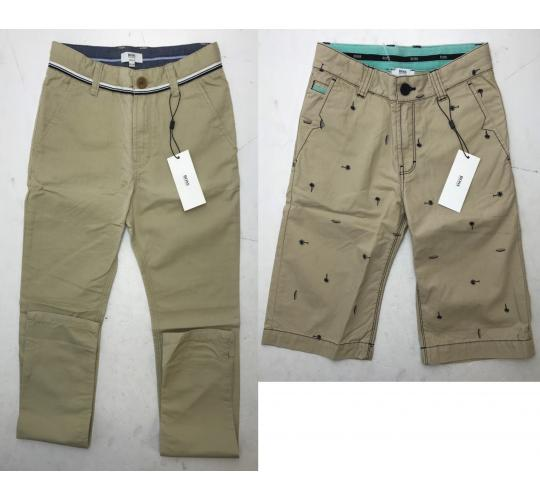 One Off Joblot of 4 Hugo Boss Boys Chino Trousers & Shorts Sizes 10-14