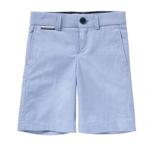 One Off Joblot of 9 Hugo Boss Boys Cotton End-on-End Bermuda Shorts Mixed Sizes