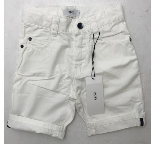 One Off Joblot of 11 Hugo Boss Young Childrens White Shorts in 2 Styles