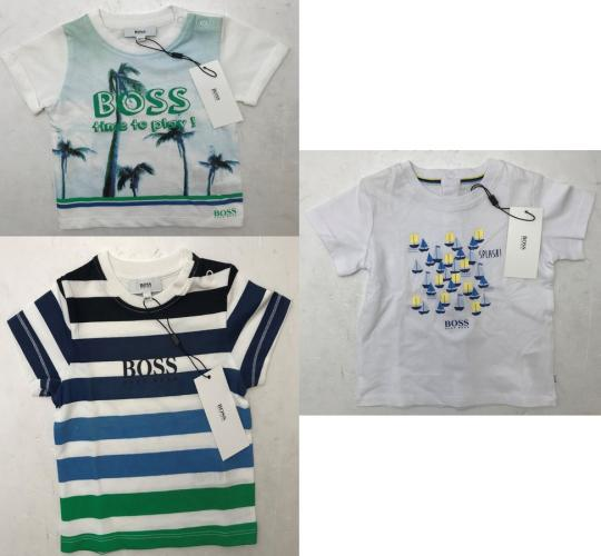 One Off Joblot of 9 Hugo Boss Infants T-Shirts in 3 Styles