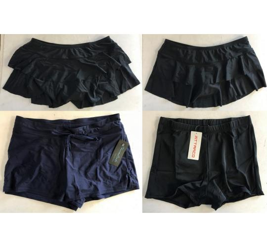 One Off Joblot of 23 Attarco/CharmLeaks Ladies Swimwear Skirts & Shorts