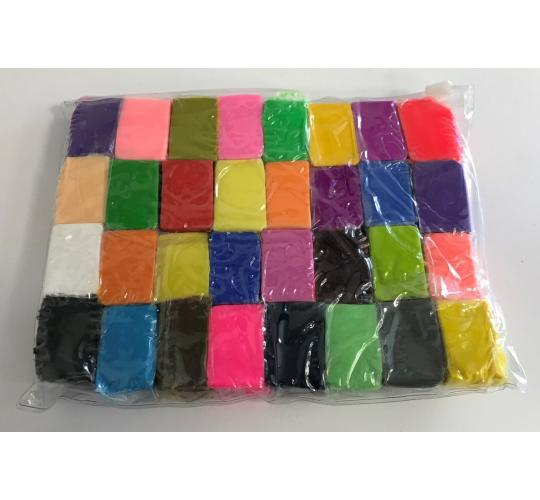 One Off Joblot of 49 Packs of Polymer Clay Sets for Moulding (32 Colours)
