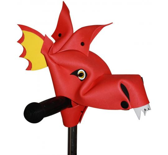 Handlebar Heroes - Infernious Red Dragon - Cool Children's Bike Accessories - 12 Units