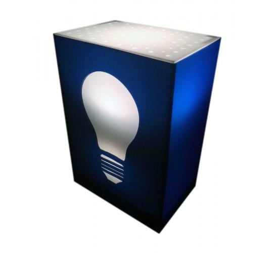 The Bulb Box Light - The Bulb - Cool Novelty Light - New & Packaged - 18 Units Per Lot