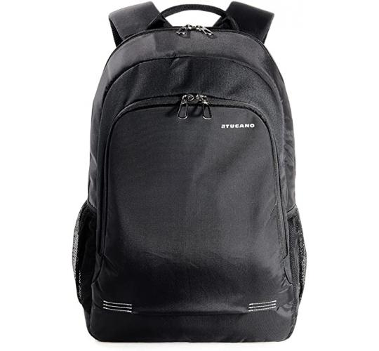 Tucano Forte Laptop Backpack for Notebook and MacBook Pro up to 15.6 Inches - Black
