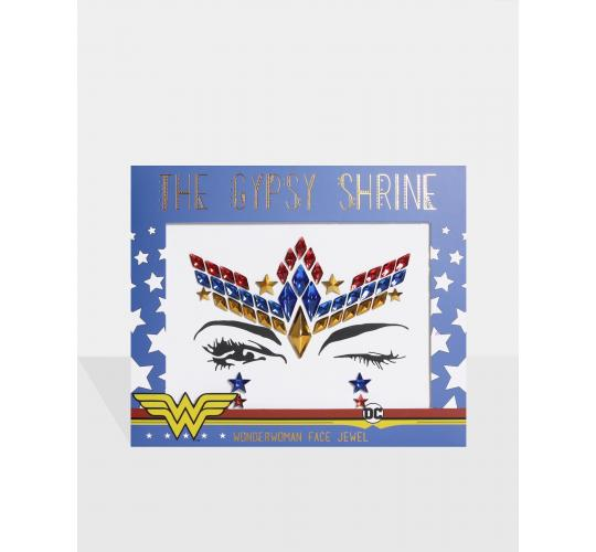 THE GYPSY SHRINE Warner Bros Wonder Woman Face & Body Jewels Bundle (50 Units)