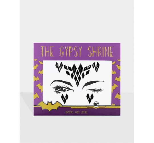 THE GYPSY SHRINE Warner Bros Bat Girl Face & Body Jewels/Sticker Bundle (50 Units)