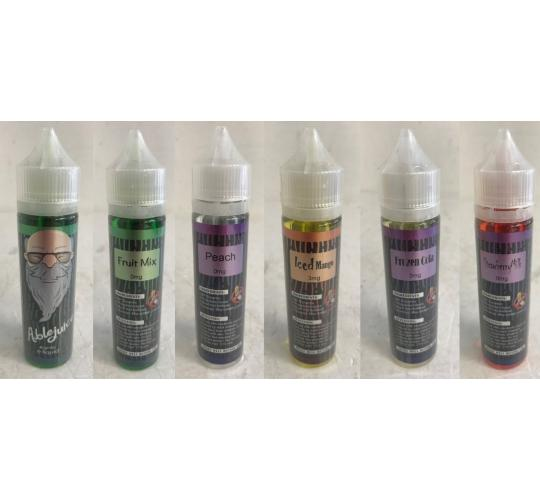 One Off Joblot of 57 Ablejuice Vape Liquid Juice Mixed Flavours 0mg/3mg