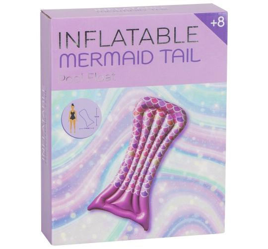 Pink Mermaid Tail Pool Floats - New & Boxed - High Quality - 20 Units Per Lot - 1 Lot Available