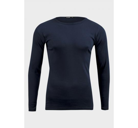 14 Mens Long Sleeve T-Shirt Cotton Crew Neck Regular Fit Top.