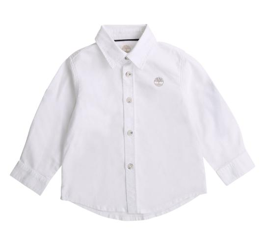 One Off Joblot of 12 Timberland Boys White Dress Shirt Sizes 12m - 6years