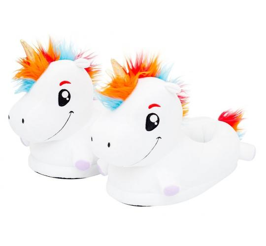 Unicorn LED Light Up Slippers for Children and Adults - Brand New