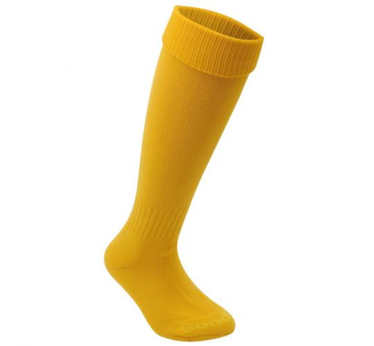 Sondico Kids Football Socks Breathable Sports Training Accessories Yellow